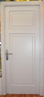дверь межкомнатная звукоизоляционная белая
