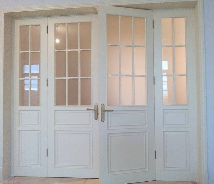 межкомнатные перегородки с распашными дверями