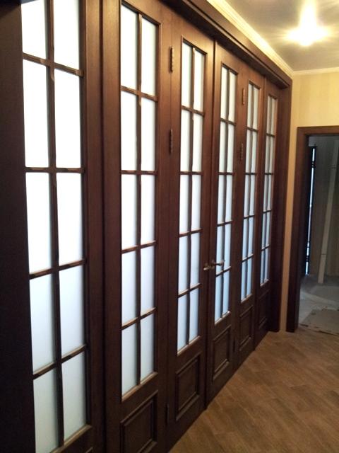 Складная межкомнатная дверь гармошка
