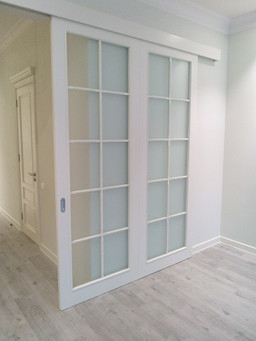 Межкомнатная раздвижная дверь двойная